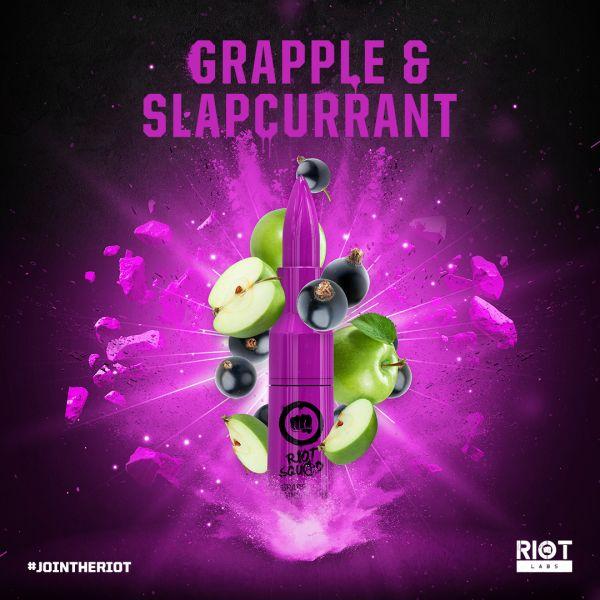 Riot Squad Grapple & Slapcurrant Liquid - 50ml