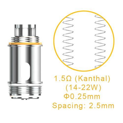 Aspire Nautilus X Replacement Coil mit 1.5 Ohm und 1.8 Ohm