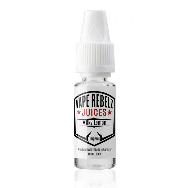 Vape Rebelz Milky Lemon Liquid - 10ml