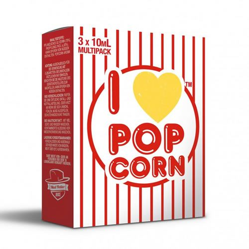 I Love Popcorn by Mad Hatter Juice - 3 x 10 ml Multipack