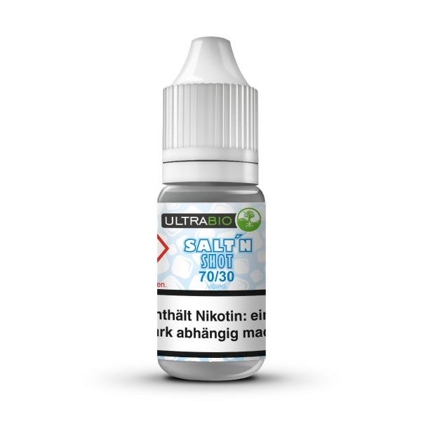 Ultrabio Nikotinsalz Shot 20 mg ( VG 70 / PG 30 ) - 10 ml