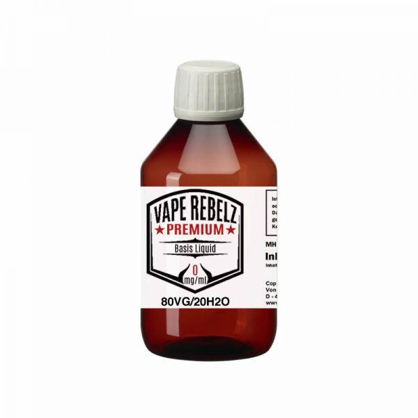 Vape Rebelz® Basis Liquid Glycerin / H2O (0:80:20) - 500ml