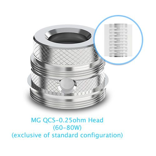 Joyetech Ultimo MG QCS Head mit 0.25 Ohm