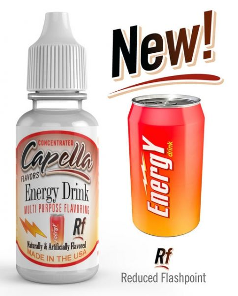 Capella Energy Drink RF Aroma Concentrate - 13ml