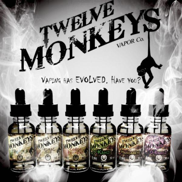 Twelve Monkeys Tropika - Multipack 3 x 10ml