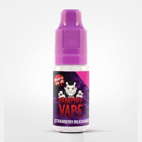 Vampire Vape Strawberry Milkshake Liquid - 10ml