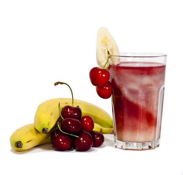 Premium Liquid - Banane Kirsch | Nikotinfrei - 10ml / 50ml / 100ml