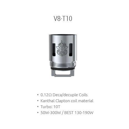 SMOK V8-T10 Decuple Core Coil mit 0.12 Ohm