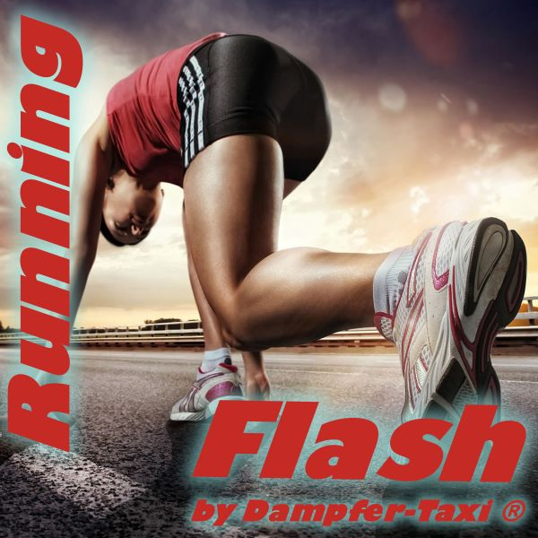 Running Flash Liquid by Dampfer-Taxi®