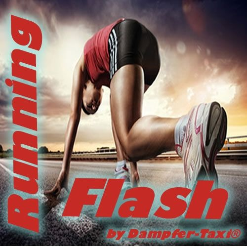 Running Flash Aroma by Dampfer-Taxi - 10ml