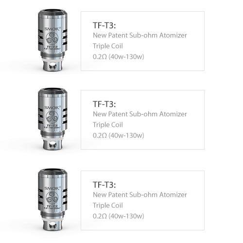TF-T3 Triple Coil 0.2Ω (TFV4)