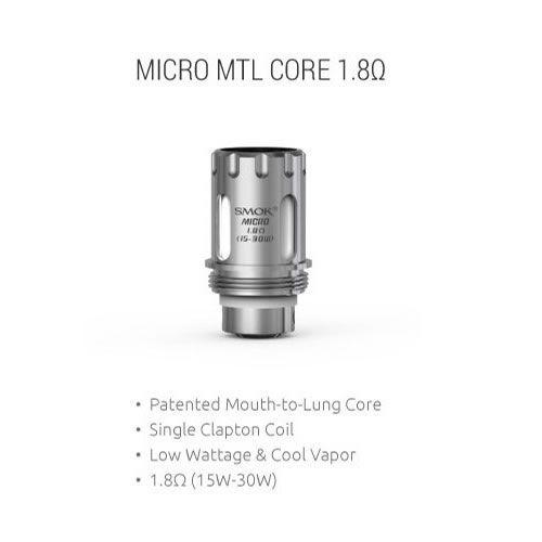 TFV4 Micro Plus MTL Coil mit 1.8 Ohm