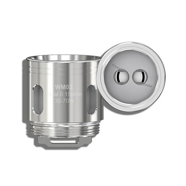 Wismec Gnome WM02 Dual Coil mit 0.15 Ohm