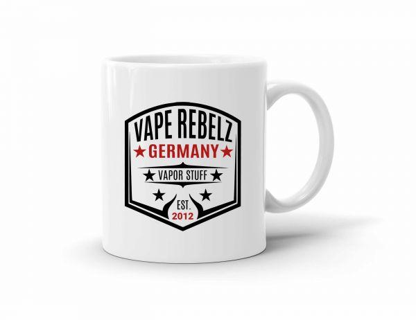 Vape Rebelz Tasse / Kaffeebecher weiß