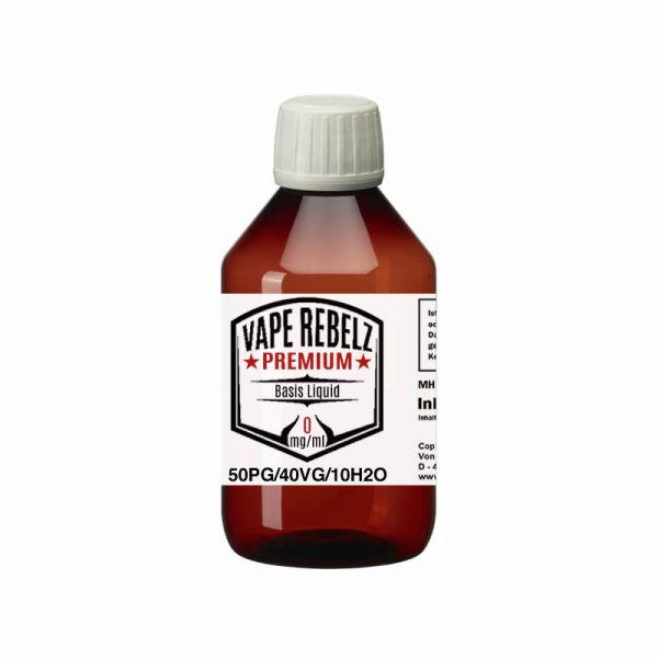 Vape Rebelz® Basis Liquid Propylenglycol / Glycerin / H2O (50:40:10) - 500ml
