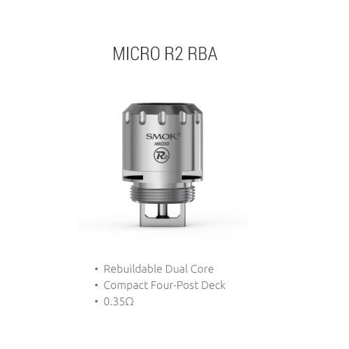 TFV4 Micro Plus R2 RBA mit 0.25 Ohm