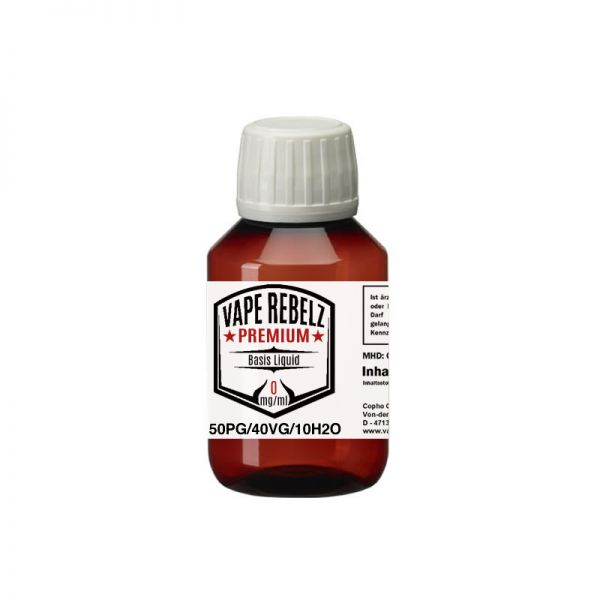 Vape Rebelz® Basis Liquid Propylenglycol / Glycerin / H2O (50:40:10) - 100ml