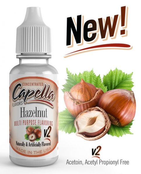 Capella Hazelnut V2 Aroma Concentrate - 13ml