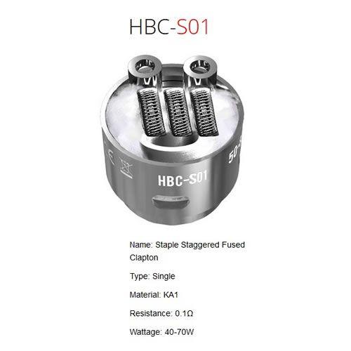 GeekVape Eagle HBC-S01 Coil