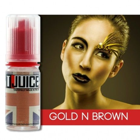 T-Juice Gold n Brown Concentrate - 10ml