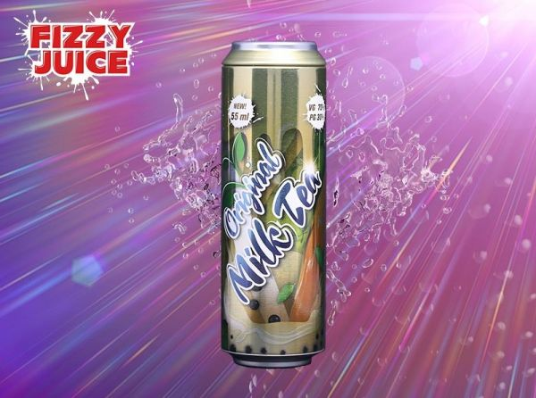 Fizzy Original Milk Tea Liquid by Mohawk - 55 ml
