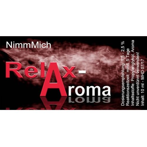 RelaxAroma NimmMich - 10ml