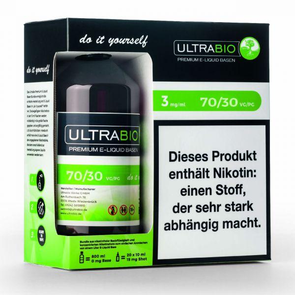 Ultrabio Basen Bundle [ VG 70 / PG 30 ]