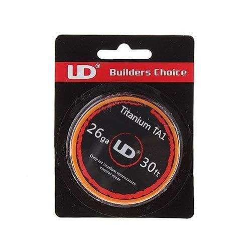 Youde UD Titanium TA1 Temp Wire 28g (0.32mm)