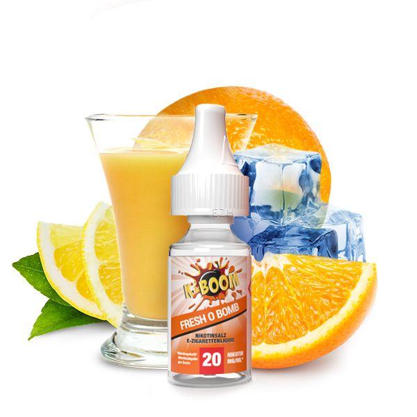 K-BOOM Fresh O Bomb Nikotinsalz Liquid 10 ml 20mg