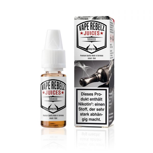 Vape Rebelz® Tobacco Juice | Liquid - 10ml