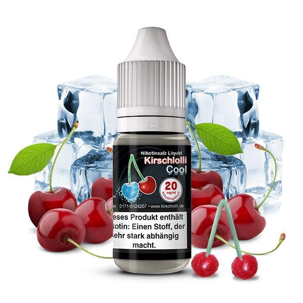 Kirschlolli Cool Nikotinsalz Liquid 10ml