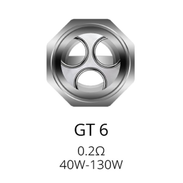 Vaporesso (NRG) GT6 Coil mit 0.2