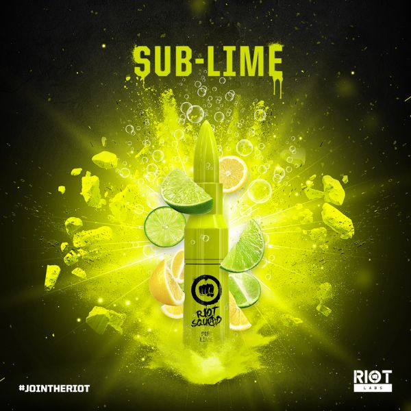 Riot Squad Sub Lime Liquid - 50ml