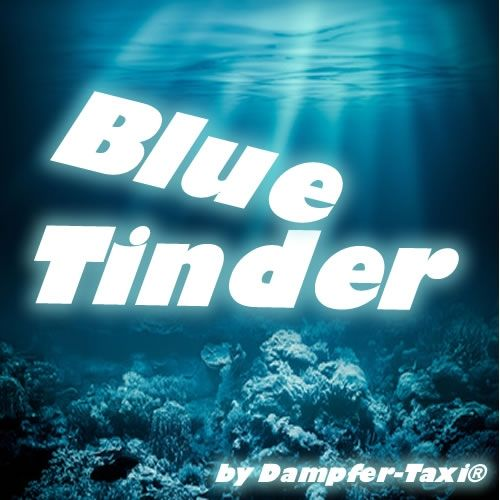 Blue Tinder Liquid by Dampfer-Taxi® - 10ml