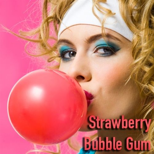 Pink Spot Strawberry Bubble Gum - Aroma 10ml