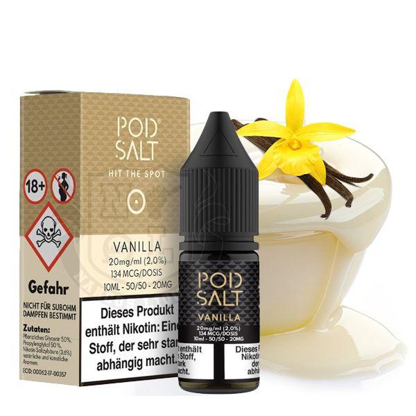 POD SALT Vanilla Nikotinsalz Liquid - 10 ml