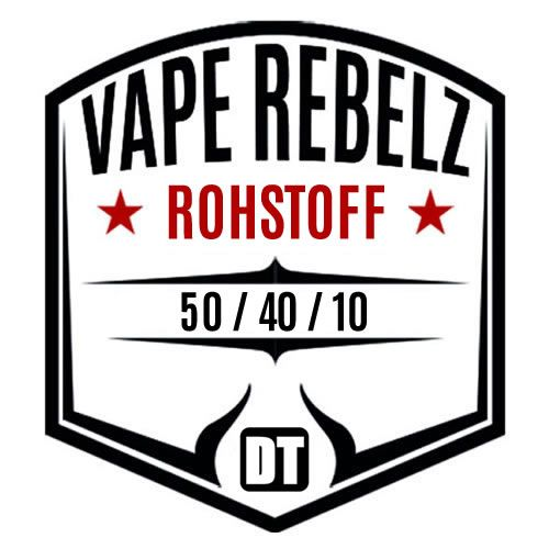 Vape Rebelz® Rohstoff 50:40:10 mit Nikotin Shots | 6mg Set - 200ml