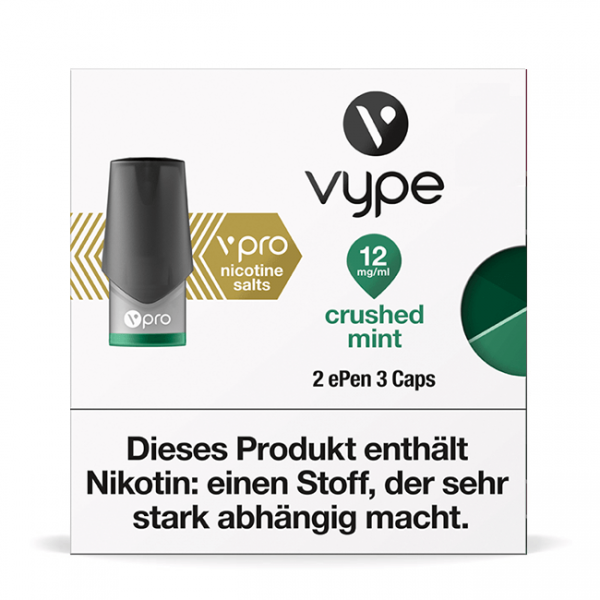Vype ePen3 Caps vPro Crushed Mint