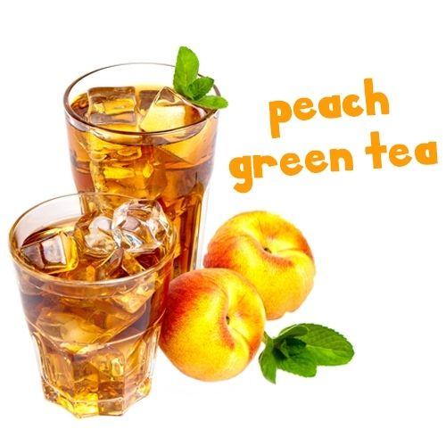 Pink Spot Peach Green Tea - Aroma 10ml