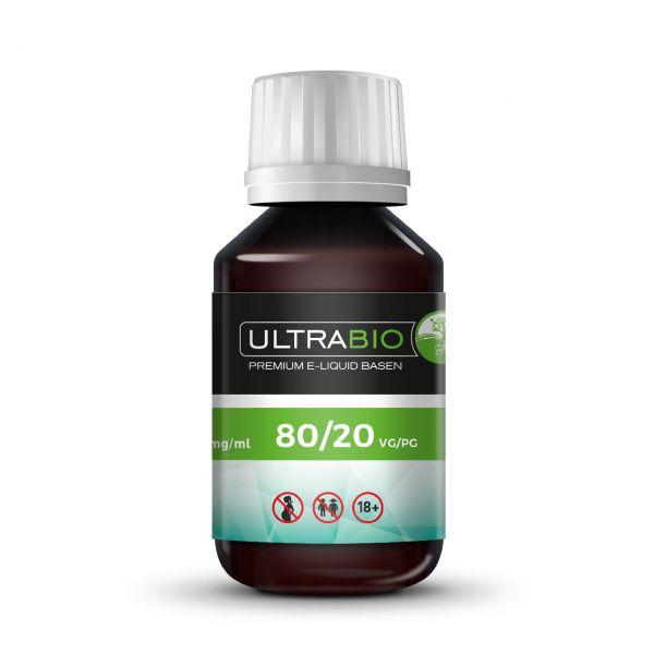 Ultrabio Base 80 VG / 20 PG - 100 ml