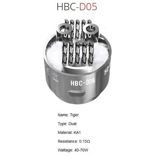 GeekVape Eagle HBC-D05 Coil