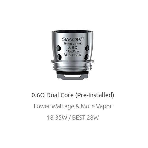 SMOK Spirals Replacement Coil mit 0.6 Ohm