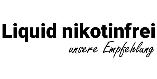 Liquid ohne Nikotin
