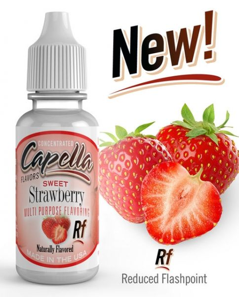 Capella Sweet Strawberry RF Aroma Concentrate - 13ml
