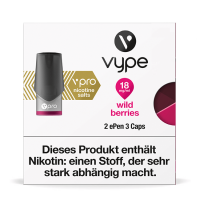 Vype ePen3 Caps vPro Wild Berries