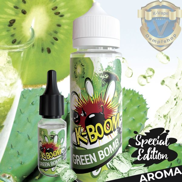 K-Boom Special Edition Green Bomb Aroma - 10ml