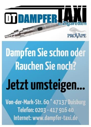 Dampfer-Taxi® HQ-Poster 59.4 x 84.1cm (DIN A1)