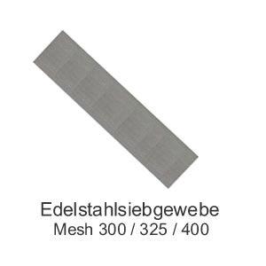 Edelstahlsieb 100mm x 13mm