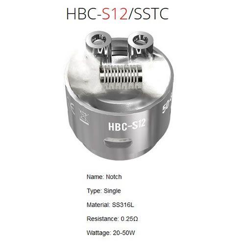 GeekVape Eagle HBC-S12 Notchcoil