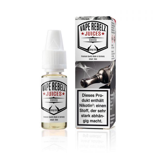 VR   Vape Rebelz® Vanilla Juice   Liquid - 10ml